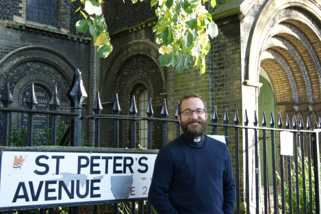 "Reverend Adam Atkinson: ""The whole neighbourhood feels in some way my responsability"""