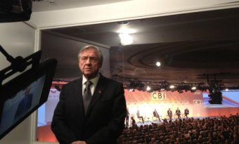 CBI boss Sir Mike Rake claims that 8 out of 10 businesses want to stay in th